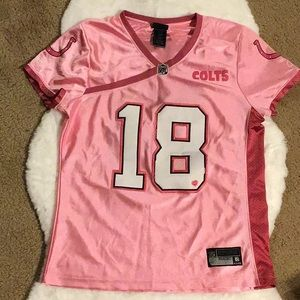 Colts pink jersey